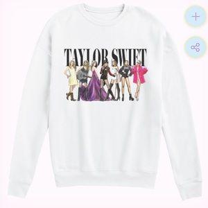 NEW TAYLOR SWIFT WHITE ERAS REPUTATION SWEATSHIRT